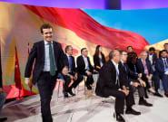 La traca final: Casado cierra junto a Moreno la convención del PP y pone rumbo a las