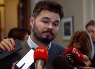 El 'palazo' de Rufián a Rivera que ya es viral tras la autoproclamación de Guaidó como presidente de