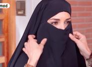 Paula Echevarría, sobre el agobio de rodar con niqab en 'Los Nuestros':