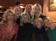 Alexandra Lamy s'amuse avec Sandrine Kimberlain et Karin