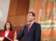 Moreno jura como presidente de la Junta prometiendo