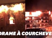 Les images de l'incendie meurtrier à Courchevel, en