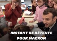 Avant Souillac et le grand débat, Emmanuel Macron s'offre ce joli moment avec des