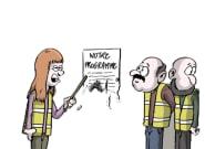 Pour les élections européennes, on connaît le programme des gilets