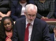 Corbyn presenta una moción de censura contra