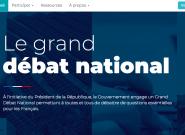 Granddebat.fr, le site du grand débat national, est mis en