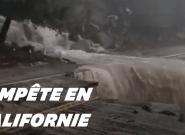En Californie, des coulées de boues détruisent des maisons et inondent des