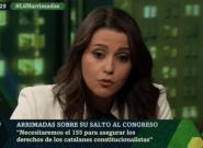 Críticas a Inés Arrimadas por lo que ha hecho en 'LaSexta Noche' al ser preguntada sobre un pacto con