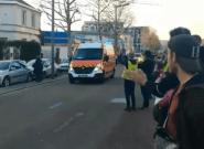 Acte XIV des gilets jaunes: à Rouen, les pompiers ovationnés après avoir secouru des