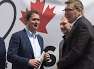 Andrew Scheer Joins Scott Moe, Blaine Higgs At Pro-Pipeline