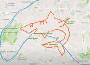 Le GPS Drawing ou comment pimper sa course à