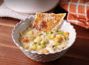 This Chicken Pot Pie Soup Is The Most Comforting Dinner