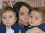 J'ai donné naissance à des jumelles à 45