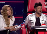El momento de Pablo López y Miriam Rodríguez en 'La Voz' (Antena 3) que ha hecho enloquecer a sus