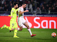 Ligue des Champions: Lyon résiste à Barcelone (0-0) en huitièmes de finale