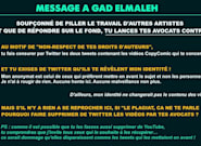 Gad Elmaleh fait supprimer les vidéos de CopyComic l'accusant de