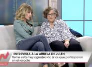 Críticas a 'Viva la vida' por la entrevista a la abuela de