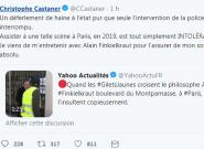 Alain Finkielkraut reçoit une pluie de soutiens après des insultes de gilets