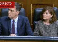 Directo: Sánchez contesta en el Congreso a preguntas de PP, Ciudadanos y Podemos sobre sus ocho meses de