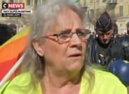 Gilets jaunes à Nice: Geneviève Legay interviewée peu d'être gravement