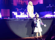 Céline Dion Hands The Mic To 7-Year-Old Anjali Singh During Las Vegas