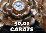 Au salon de l'horlogerie à Bâle, cette montre aux 15.858 diamants a fait