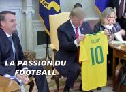 Donald Trump et Jair Bolsonaro sont d'accord sur tout, même sur le