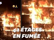 Incendie à Draguignan: Les images des flammes qui ont ravagé un