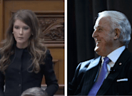 Amanda Simard, Ontario MPP, Responds to Brian Mulroney Calling Her 'Little