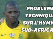CAN 2019: lors des qualifications, l'hymne sud-africain interrompu... par un