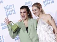 El comentado bolso de Amaia Romero ('OT 2017') en la presentación de 'Dolor y gloria' de Pedro