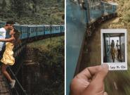 Ces instagrameurs critiqués après leur photo acrobatique dans un train en