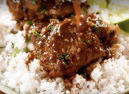 This Asian Slow-Cooker Chicken Thighs Recipe Has The Best Sauce