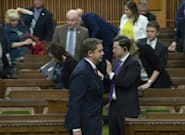 Conservatives Stage Walkout During Bill Morneau's Budget