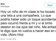 La lección viral de una profesora ante una situación de acoso sexual en una clase: