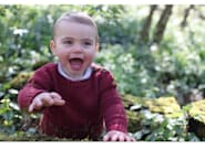 Kensington Palace Releases Photos For Prince Louis' 1st