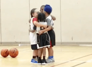 Gurpreet Singh Dhillon's 5-Year-Old Son Starts Basketball-Court Cuddle In Viral