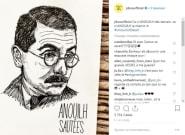 Sur Instagram, Julien Doré et ses dessins sont très