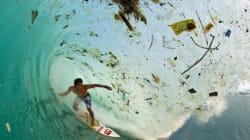 Des vagues de déchets en