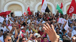 Protestations à Tunis contre le massacre en Egypte... Des journalistes