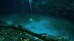 Une rivière sous l'eau.. ça existe! (VIDÉO,