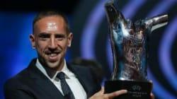 Franck Ribery: Un farçeur sur le toit de
