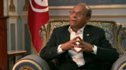 Moncef Marzouki accorde une interview à CNN