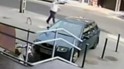 WATCH: Bank Robber Outruns Fat Security