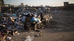 Faute de carburant, Gaza devient une décharge à ciel