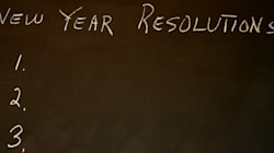 Seven Steps to Making New Year's Resolutions That Will Come