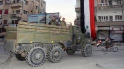 Violents bombardements contre un bastion rebelle en