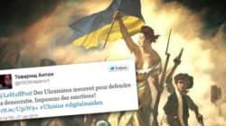 Comment les manifestants ukrainiens ont pris Twitter