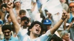 Le but du siècle de Maradona