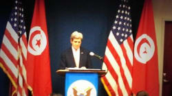 John Kerry de passage à Tunis: